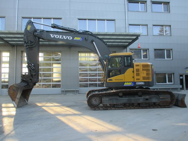 Raupenbagger Volvo ECR305CL (36to) Compact