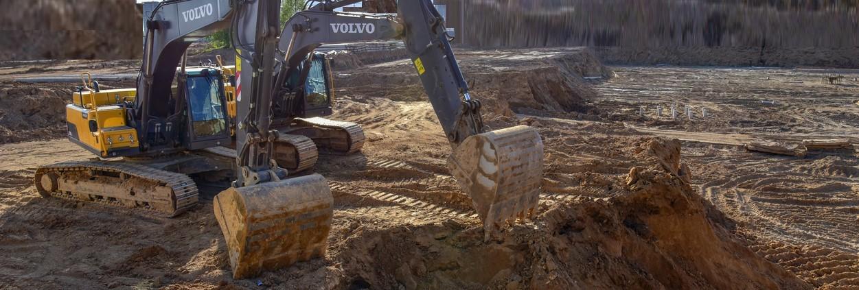 Volvo Zaehne für Baumaschinen und Radlader
